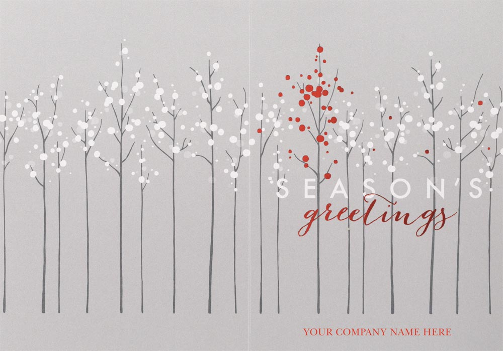 The gallery for --> Contemporary Christmas Cards