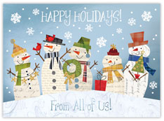 From All of Us Snowmen Card