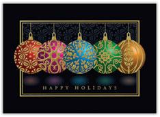 Classic Colored Ornaments