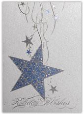 Hanging Blue Star