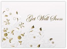 Get Well Flourish Card