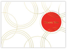 Dot Thank You Card