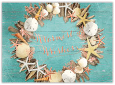 Seaside Greeting Holiday Card