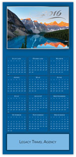 Scenic View Calendar Card