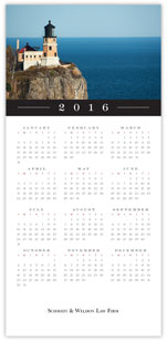 Lighthouse Calendar Card