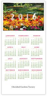 Garden Calendar Card