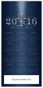 2016 Legal Scales Calendar