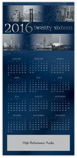 Cities Calendar Card