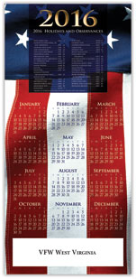 2016 Patriotic Calendar