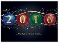 2016 Jeweled Globes