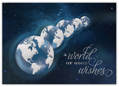 Blue Global Greetings