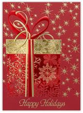 Snowflake Sparkle Gift