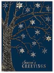 Glitter Snowflake Tree
