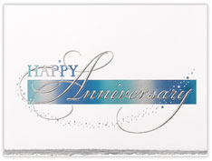 Reflective Anniversary Card