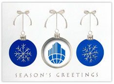 Blue Ornament Logo