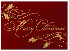 Elegant Merry Christmas