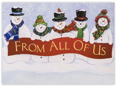From All Of Us Snowmen
