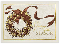 Greetings of the Season Embossed