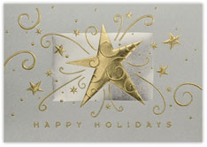 Festive Happy Holidays Card