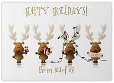 Cheery Reindeer