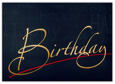 A Special Day Birthday Card