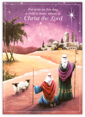 Guiding Star Religious Card
