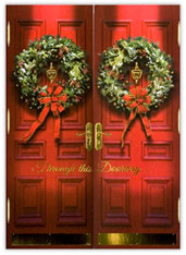 Through this Doorway...Holiday Card