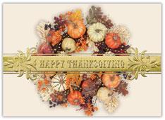 Harvest Wreath Charity Card