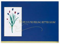Business Get Well Card