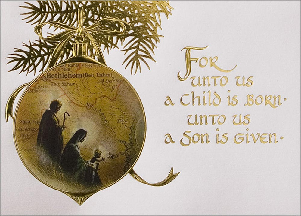 Christian Christmas Greeting