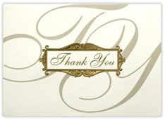 Scripted Thank You Card