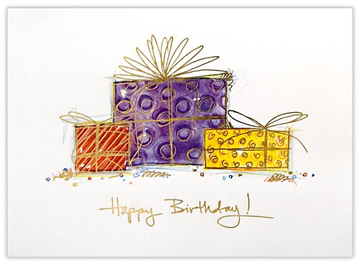 Packaged Greeting Card - Birthday Cards from CardsDirect