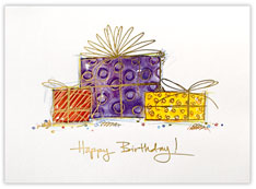 Packaged Greeting Card