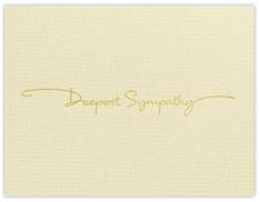 Mini Sympathy Card