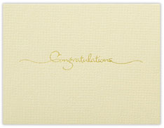 Petite Congratulations Card