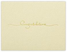 Petite Congratulations Card