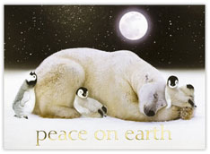 Polar Friends Christmas Card