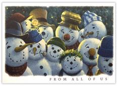 Snowmen Gathering
