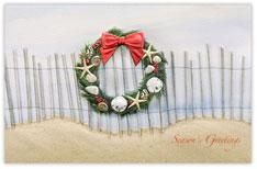 Seacoast Style Christmas Card