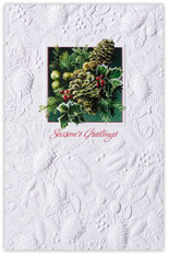 Winter Greens Holiday Card