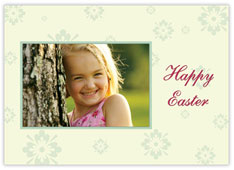 Flower Patterned Easter Photo