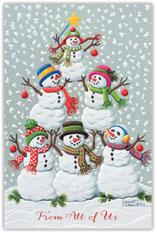 Tree of Snowmen