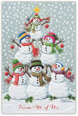 Tree of Snowmen
