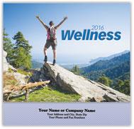 Wellness Stapled Wall Calendar