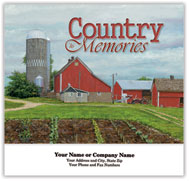 Country Memories Stapled Wall Calendar