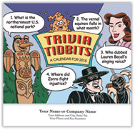 Trivia Tidbits Wall Calendar - Stapled