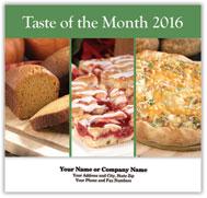 Taste of the Month Stapled Wall Calendar