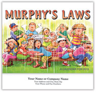 Murphy's Law Wall Calendar - Stapled