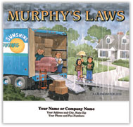 Funny Murphy's Laws Stapled Calendar