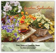 Floral Stapled Calendar
